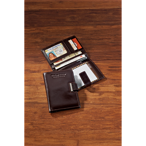 Picture of Cutter & Buck American Classic Note Taker, Promotional Logo Note Taker Wallet