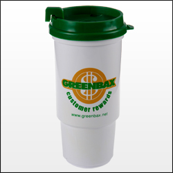 Picture of 16 oz. Insulated Auto Cup, Promotional Logo 16 oz. Insulated Car Cup