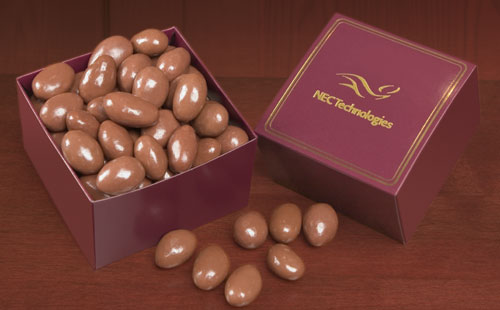 Picture of Gourmet Chocolate Covered Almonds Gift Box