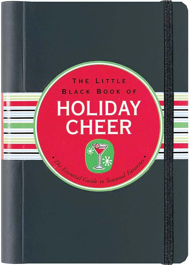 Picture of Gift Book: The Little Black Book of Holiday Cheer, Promotional Logo Gift Books