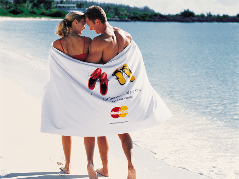 "Picture of Heavyweight 36"" x 70"" Beach Towel, Promotional Logo Heavyweight 36"" x 70"" Beach Towel"