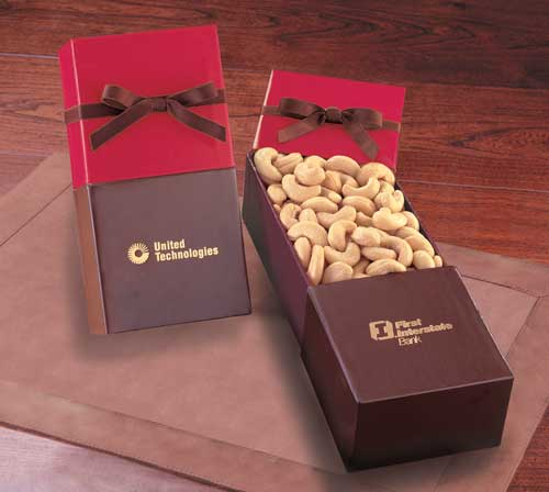Picture of Extra Fancy Jumbo Cashews, Promotional Logo Extra Fancy Jumbo Cashews