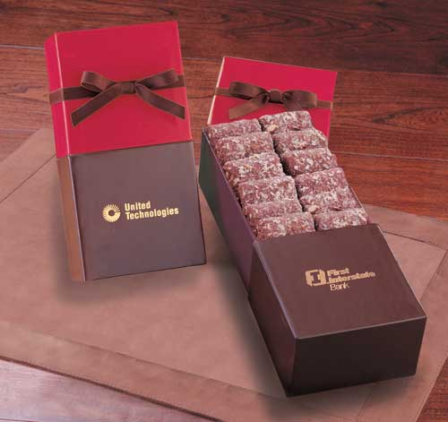 Picture of Gourmet English Butter Toffee, Promotional Logo Gourmet English Butter Toffee