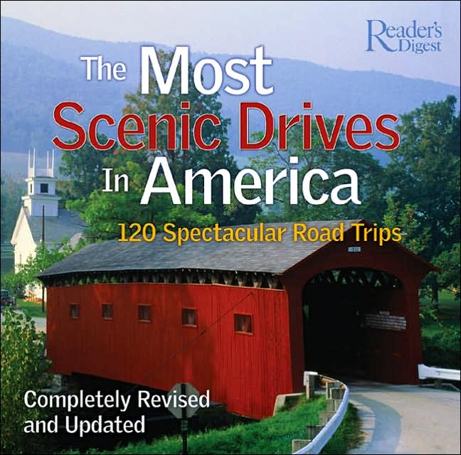 Picture of Gift Book: Most Scenic Drives in America, Promotional Logo Scenic American Automobile Drives