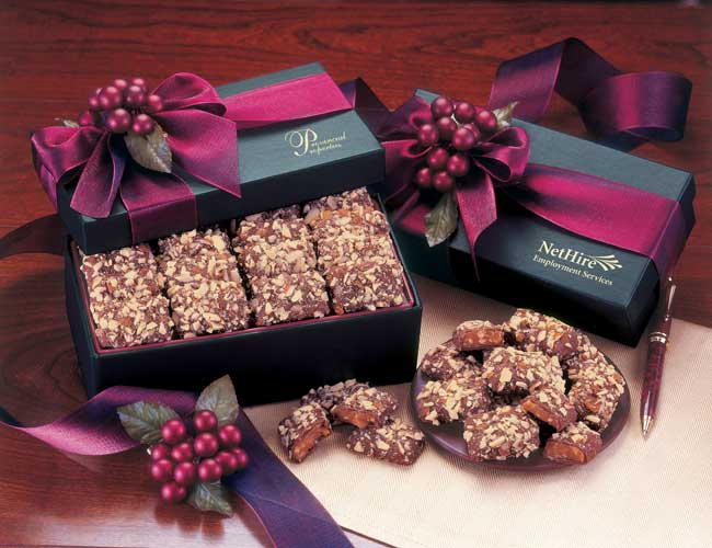 Picture of Gourmet English Butter Toffee Gift Box