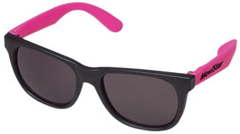 5f1d9ff7d340 Custom Imprinted Cool Shades - Fluorescent Arms - BlueberryBrands.com