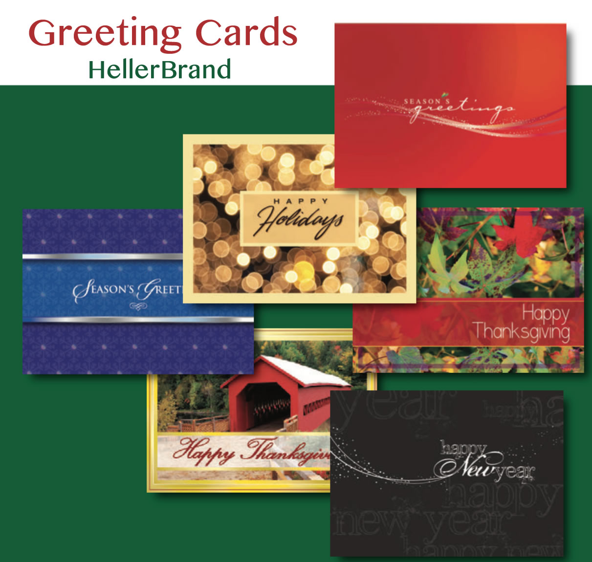 Picture of Customized Promotional Greeting Cards