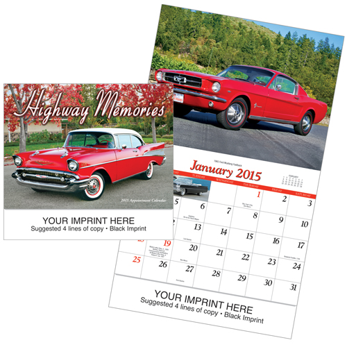 Picture of Highway Memories Calendar, Promotional Logo Highway Memories Calendar