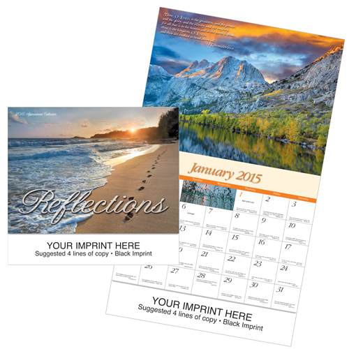 Picture of Reflections-Universal Calendar, Promotional Logo Reflections-Universal Calendar