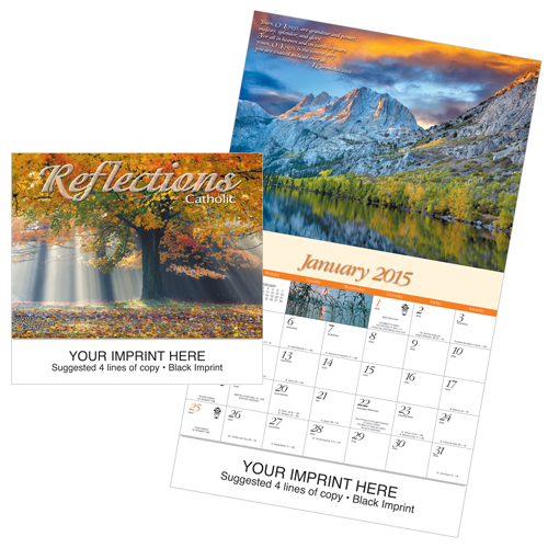 Picture of Catholic Reflections Calendar, Promotional Logo Catholic Reflections Calendar