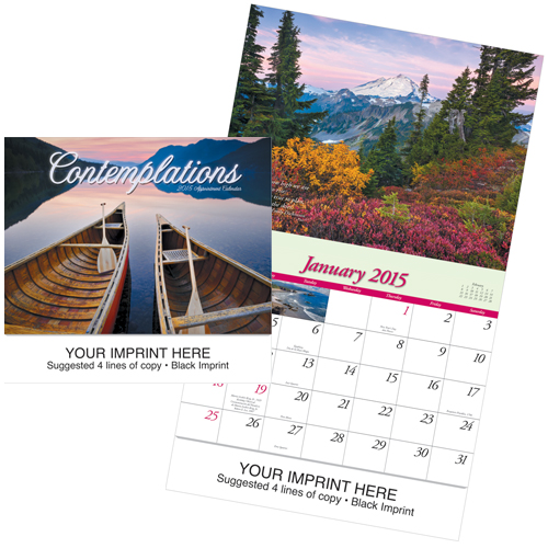 Picture of Contemplations Calendar, Promotional Logo Contemplations Calendar