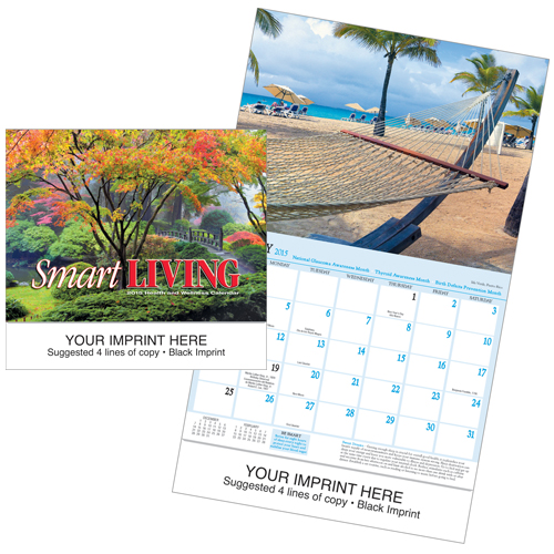 Picture of Smart Living Calendar, Promotional Logo Smart Living Calendar
