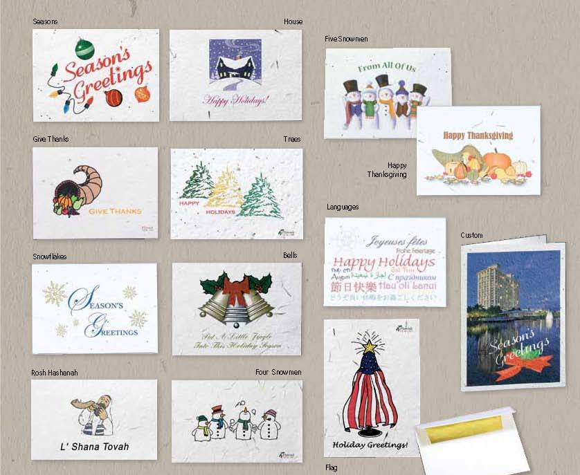 Picture of Seeded Holiday Cards
