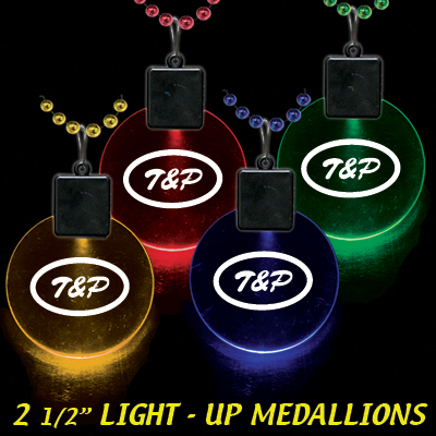 Picture of 2 1/2'' Lighted Medallions, Promotional Logo 2 1/2'' Lighted Medallions