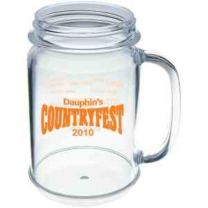 Picture of Promotional Logo 16oz Mason Jar Mug
