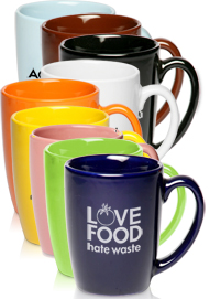 Picture of 12oz Java Coffee Mugs , Promotional Logo12oz Java Coffee Mugs