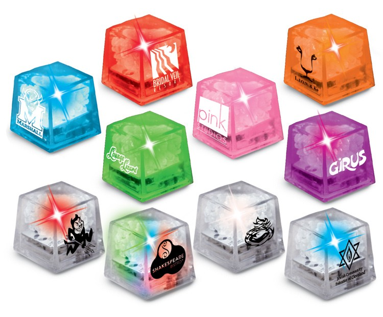 Picture of Miniglow Ice Cubes, Promotional Logo Miniglow Ice Cubes