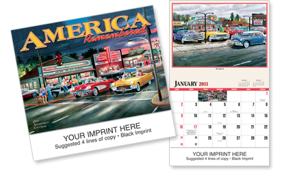 Picture of America Remembered Calendar, Promotional Logo America Remembered Calendar