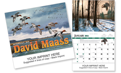 Picture of David Maass Calendar, Promotional Logo David Maass Calendar