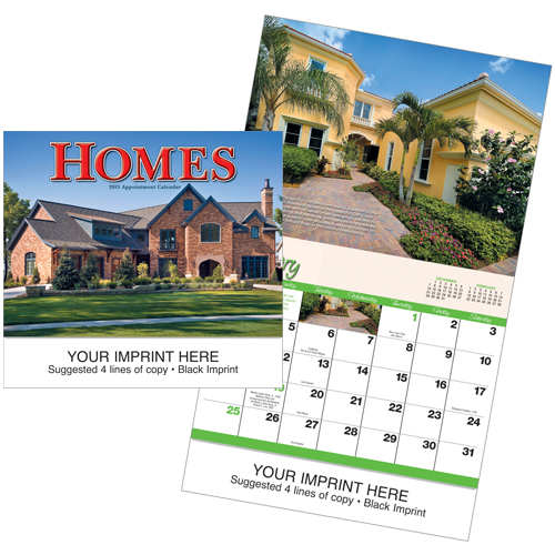 Picture of Dream Homes Calendar, Promotional Logo Dream Homes Calendar