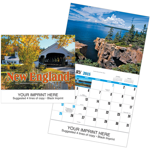 Picture of New England Calendar, Promotional Logo New England Calendars