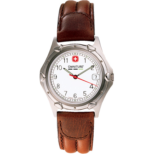 Picture of Wenger Mens Standard Issue Brown Strap Watch