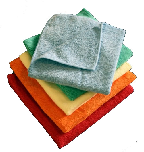 Picture of Microfiber Cleaning Cloths - 14 x 14 - 360 per pack.