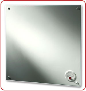 Picture of ECONO-HEATER high-efficiency electric panel heater.
