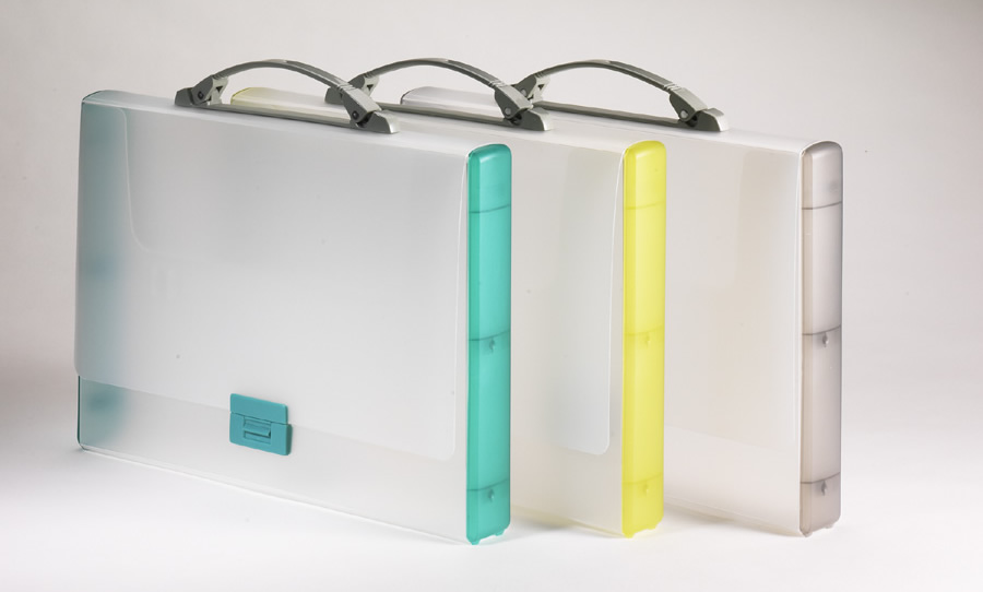 Picture of TARIFOLD CCB1, CCR1, CCY1 and CCGY1  Translucent Briefcases