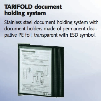 Picture of TARIFOLD EDS A4 PIVOTING POCKETS