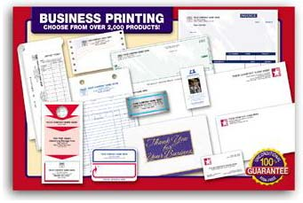 Picture of The broadest selection of imprinted manual and software compatible forms available today.