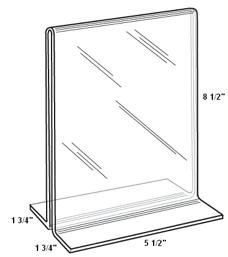 Menucoverman.com #TT5585   Acrylic Table Stands For Restaurants Copy  #1002 637