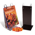 Picture of Menucoverman #ROLL-STAND- Menu Roll Stands for Restaurants