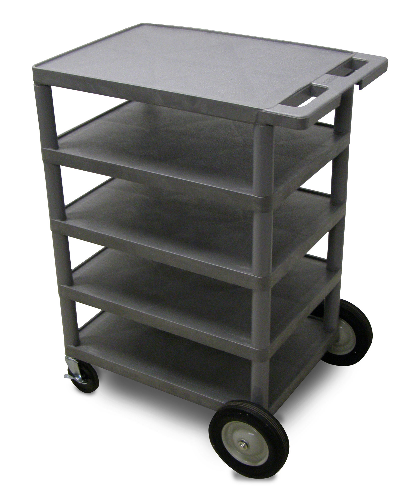 "Picture of Luxor BC50 5-Shelf 46"" High Serving Cart"