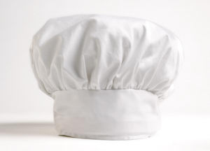 Picture of White chef hat