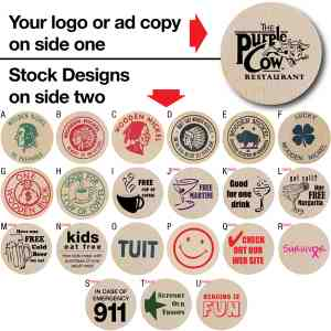 Picture of Promotional Wooden Nickel