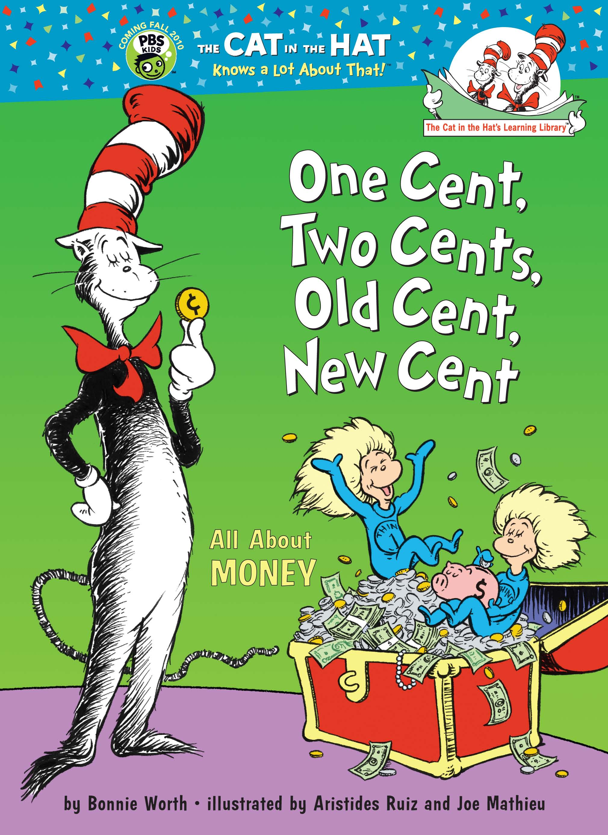 Picture of Gift Book: Dr. Seuss: One Cent, Two Cents, Old Cent, New Cent, Promotional Logo Gift Books