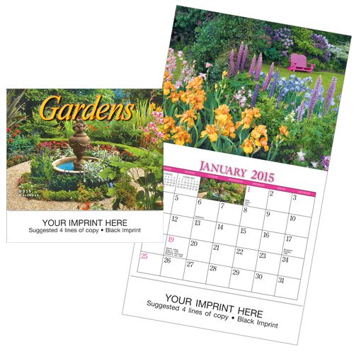 Picture of Mini Gardens Calendar