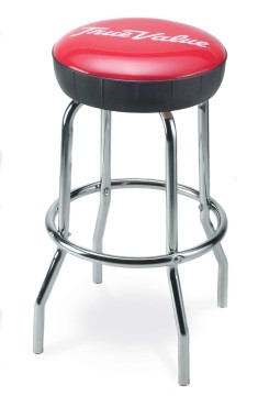Picture of Upholstered Ring Stool, Logo Upholstered Ring Stool