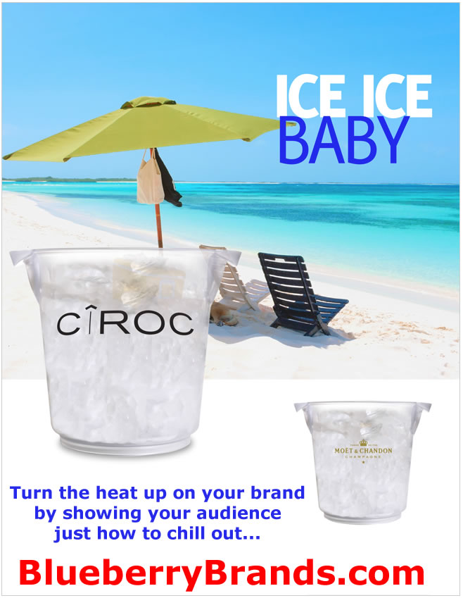 Picture of Imprinted Ice Buckets, Logo Ice Buckets