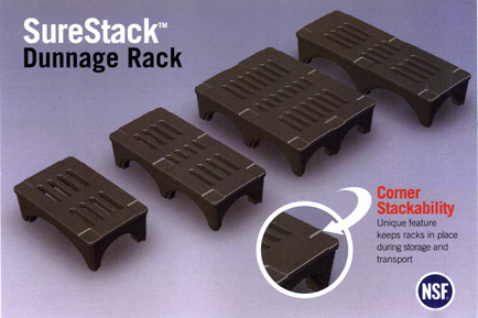 Picture of SureStack™ Dunnage Racks.