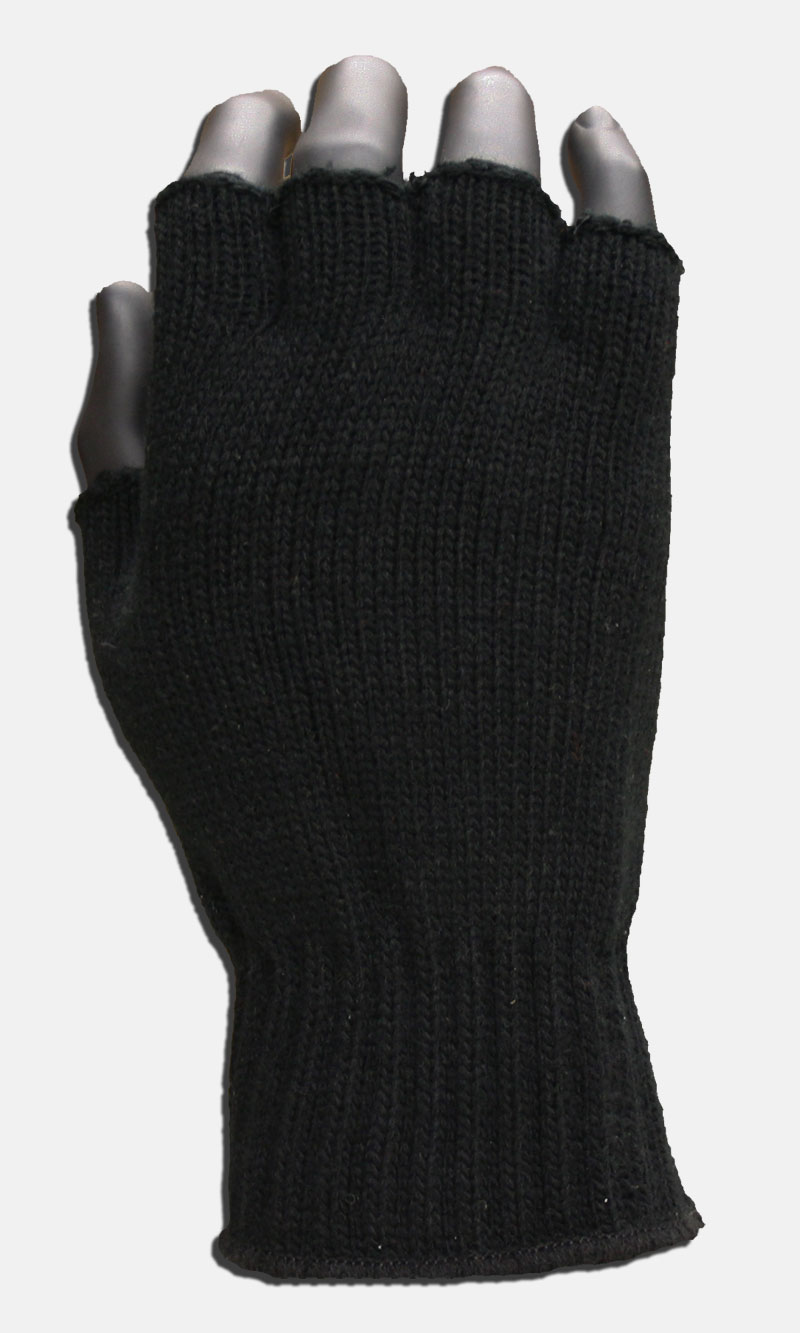 Picture of Fingerless Acrylic Knit Gloves, Promotional Logo Fingerless Acrylic Knit Gloves