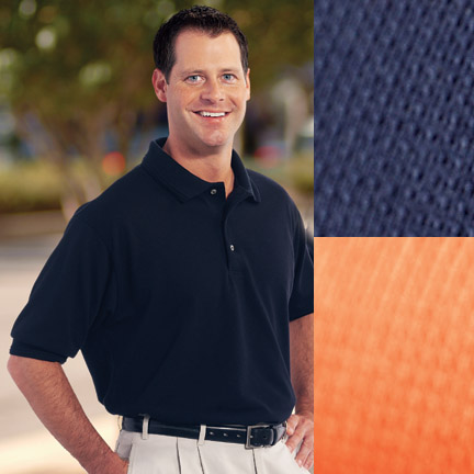 Picture of Textured Performance Golf Shirt, Promotional Logo Textured Performance Golf Shirt