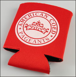 Picture of Budget Pocket Can Holder, Promotional Logo Budget Pocket Can Holders