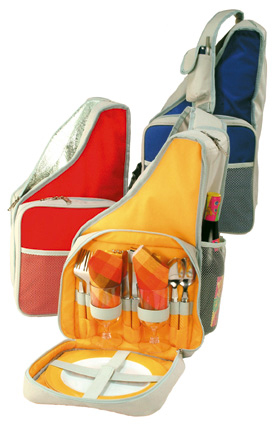 Picture of Fiesta Class - 2 Person Picnic Sets, Promotional Logo Fiesta 2 Person Picnic Set