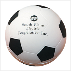 Picture of Stress Baseball or Soccer Ball, Promotional Logo Stress Baseball or Soccer Ball