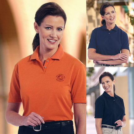 Picture of TEXTURED LADIES' POLO SHIRT