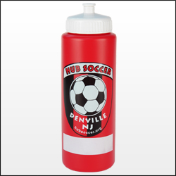 Picture of 32 oz. Colored Sports Bottle, Promotional Logo 32 oz. Colored Sports Bottle