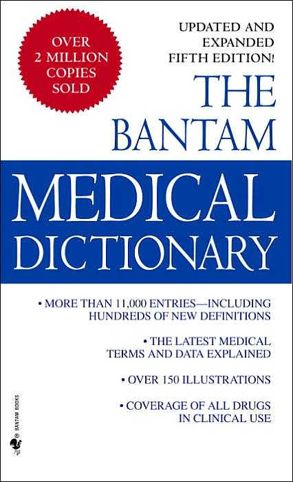 Picture of Medical Book: Bantam Medical Dictionary