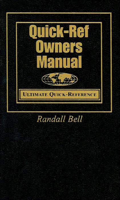 Picture of Quick-Ref Pocket Guides: Owners Manual: Ultimate Quick-Reference